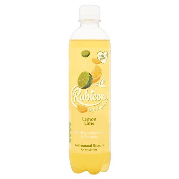 Rubicon Spring Lemon & Lime 500ml (UK)